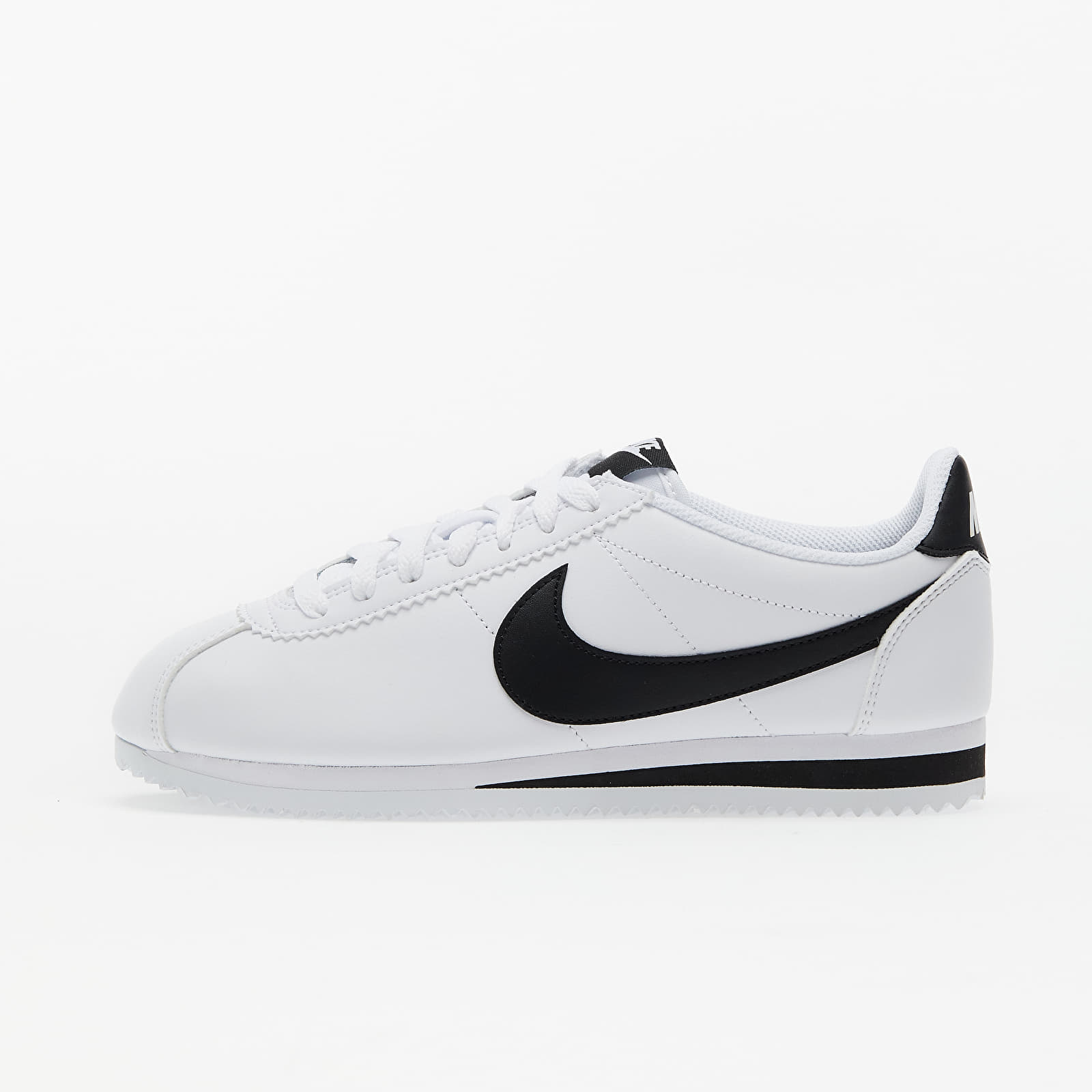 Chaussures et baskets femme Nike Wmns Classic Cortez Leather White/ Black-White