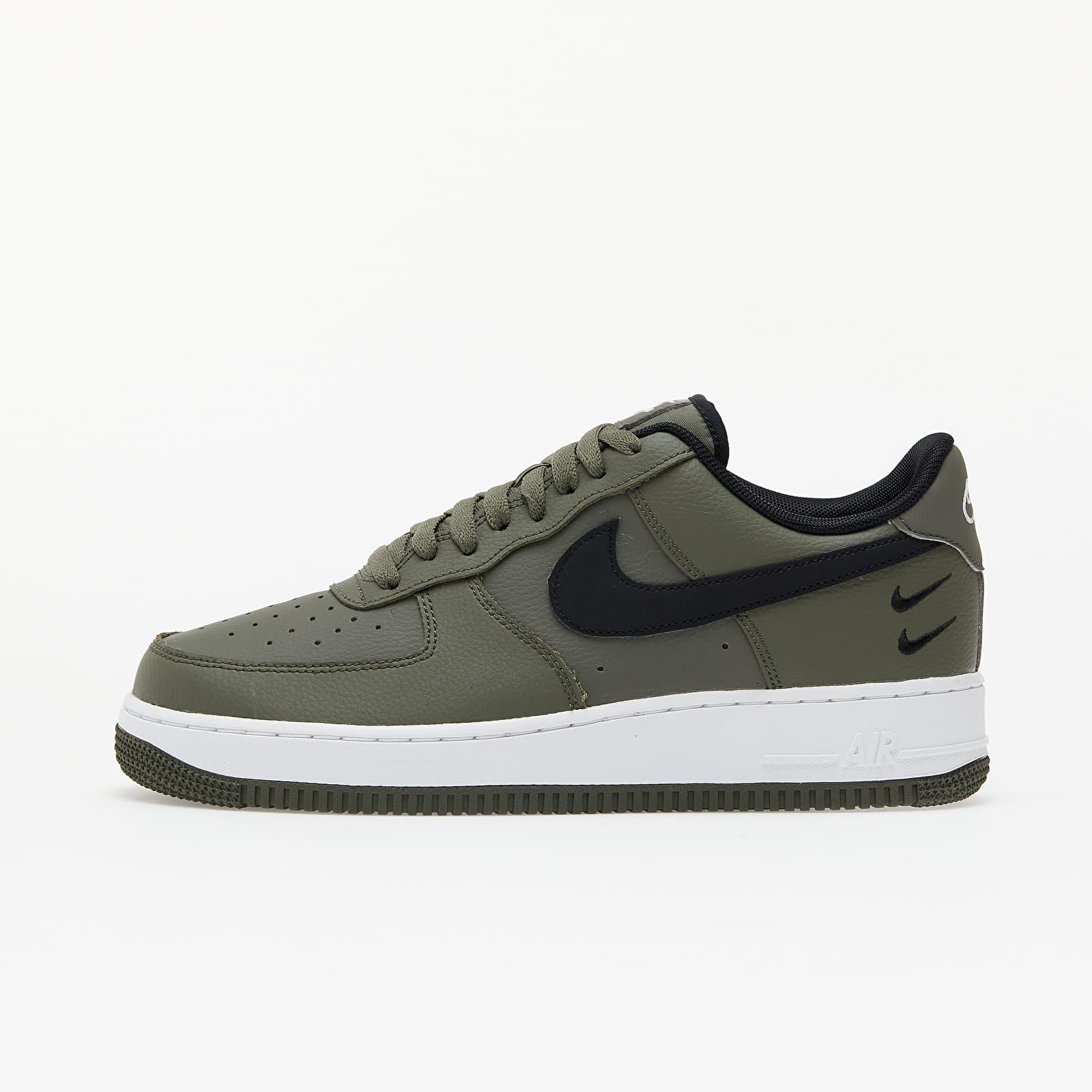 Pánske tenisky a topánky Nike Air Force 1 '07 Twilight Marsh/ Black-White