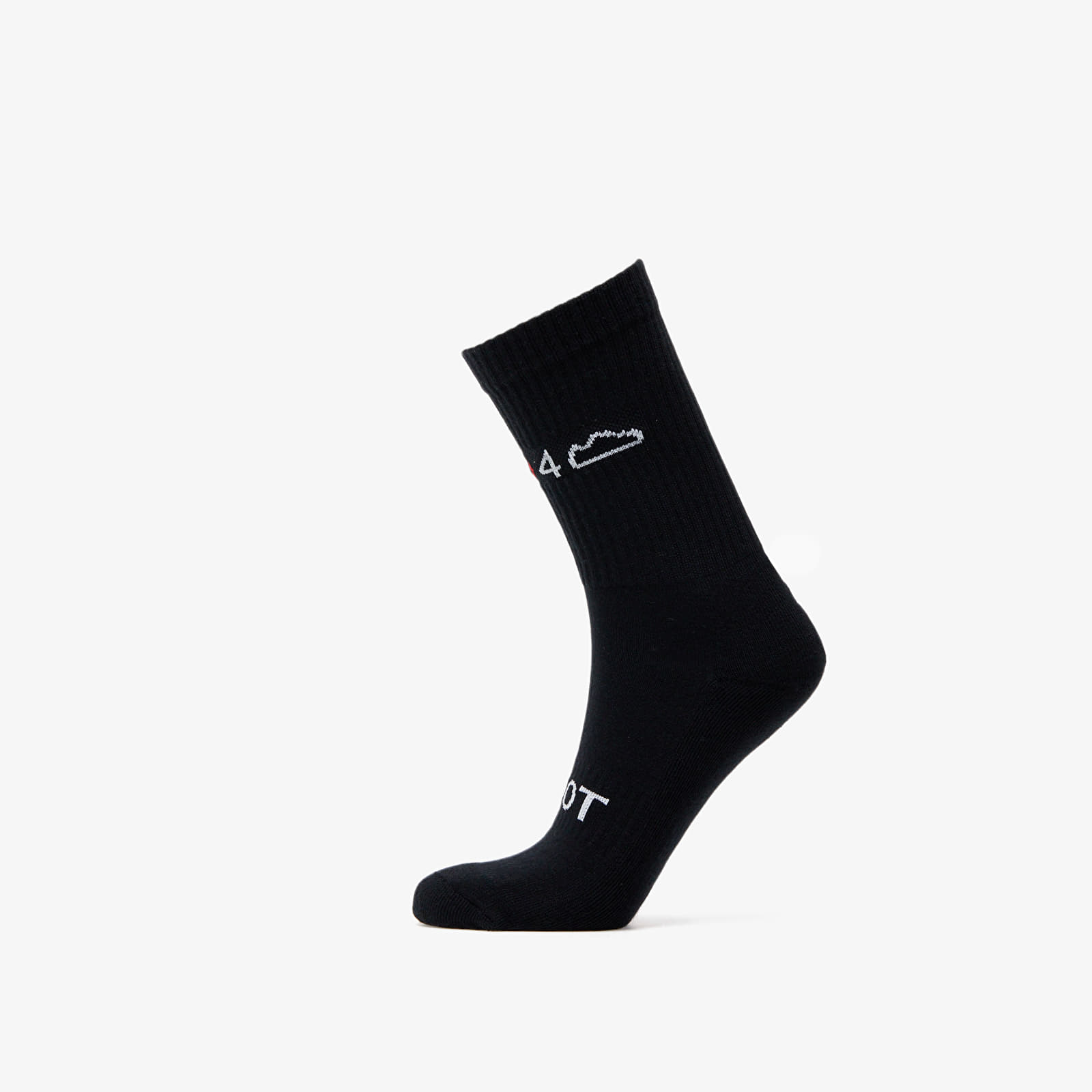 Calcetines Footshop 3-Pack Socks Black