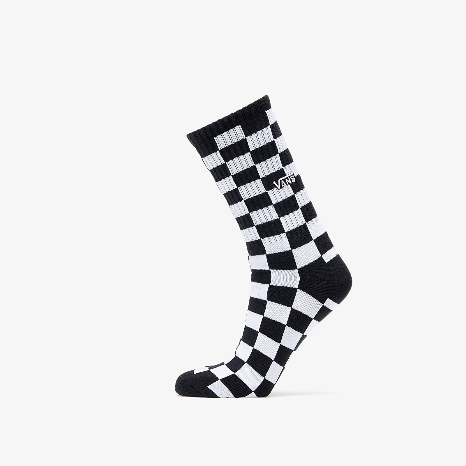 Nogavice Vans Checkerboard II Crew Socks Black/ White Check