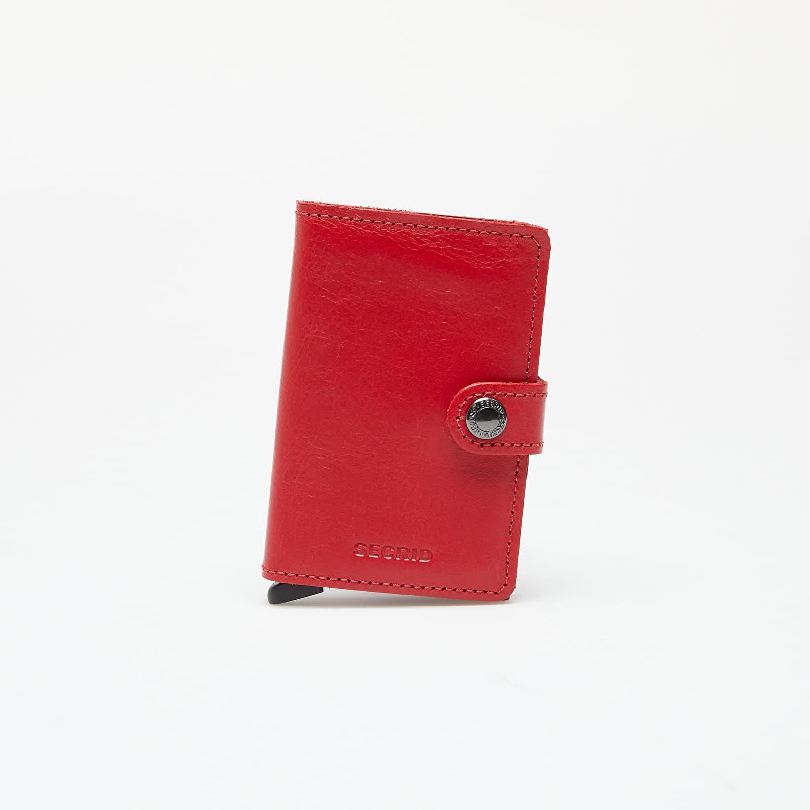 Portafogli Secrid Miniwallet Original Red-Red