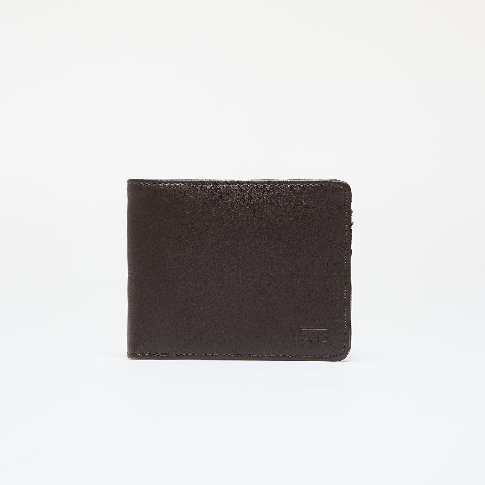 Wallets Vans Drop V Bifold Wallet Dark Brown