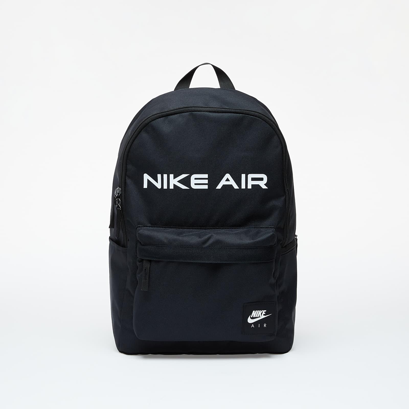 Nike Heritage Backpack - Nike Air Black/ Black/ White EUR