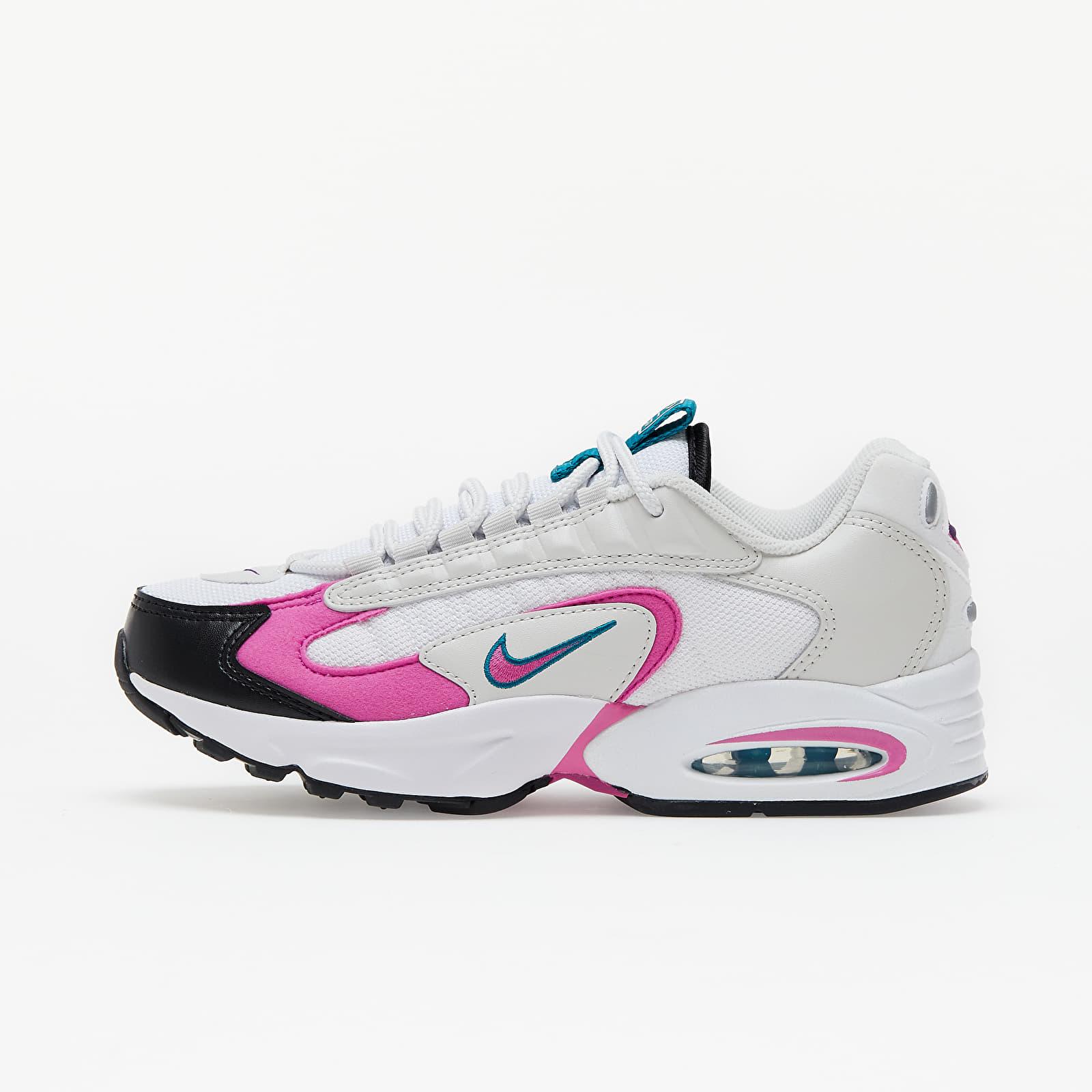 Scarpe e sneaker da donna Nike W Air Max Triax White/ Active Fuchsia-Bright Spruce