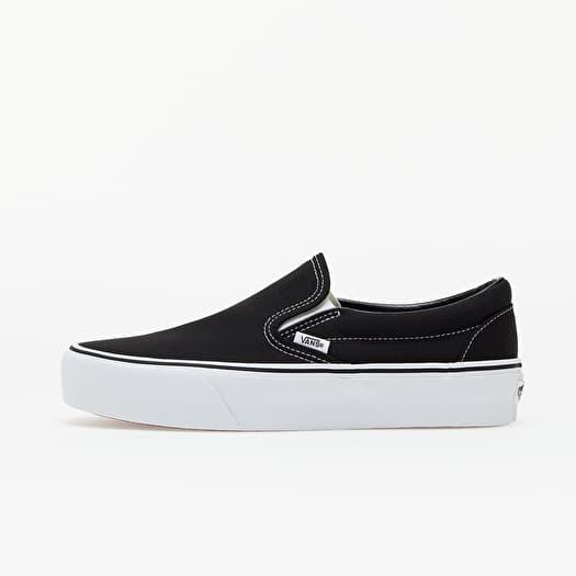 Vans Classic Slip-On Platform Black | Footshop