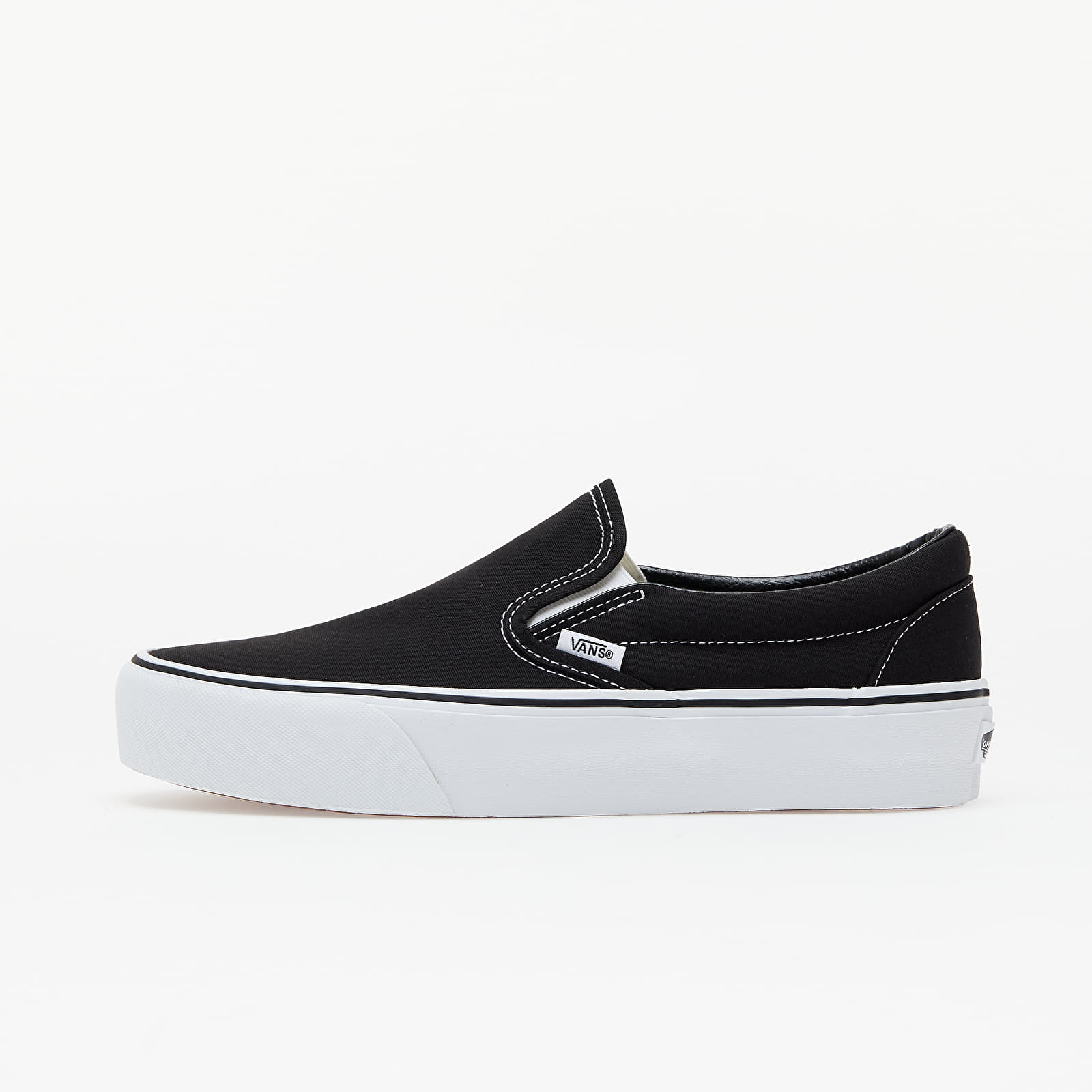 Chaussures et baskets femme Vans Classic Slip-On Platform Black