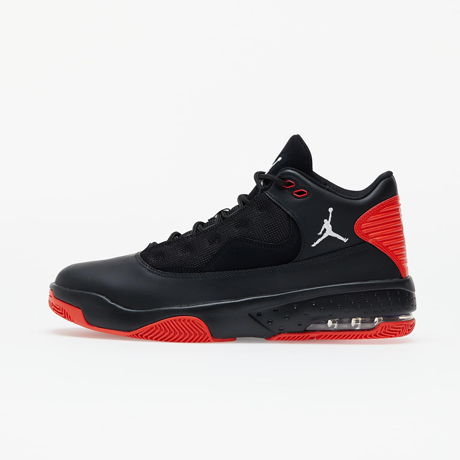 Jordan Max Aura 2 Black/ White-Chile Red   Footshop
