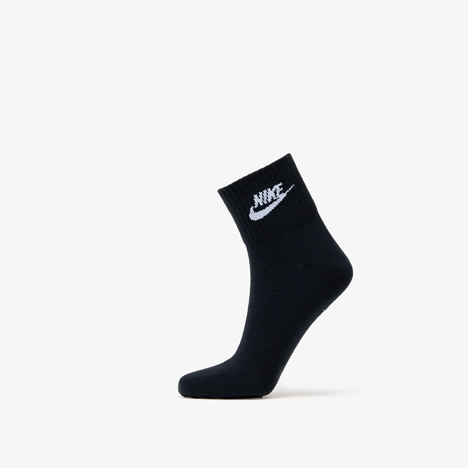 Chaussettes Nike Sportswear Everyday Essential Ankle Socks (3-pack) Black/ White