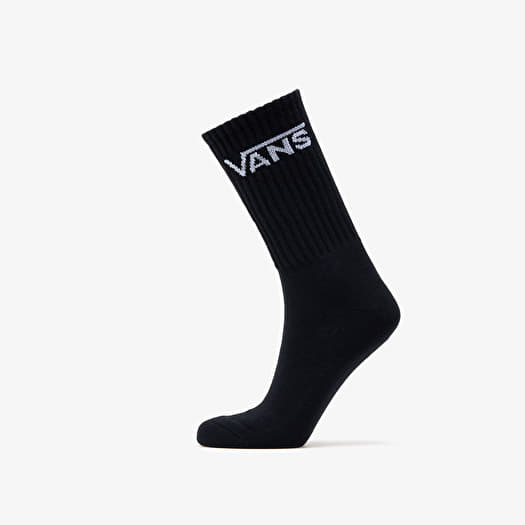 Vans Socks M Classic Crew 3 Pairs Black | Footshop