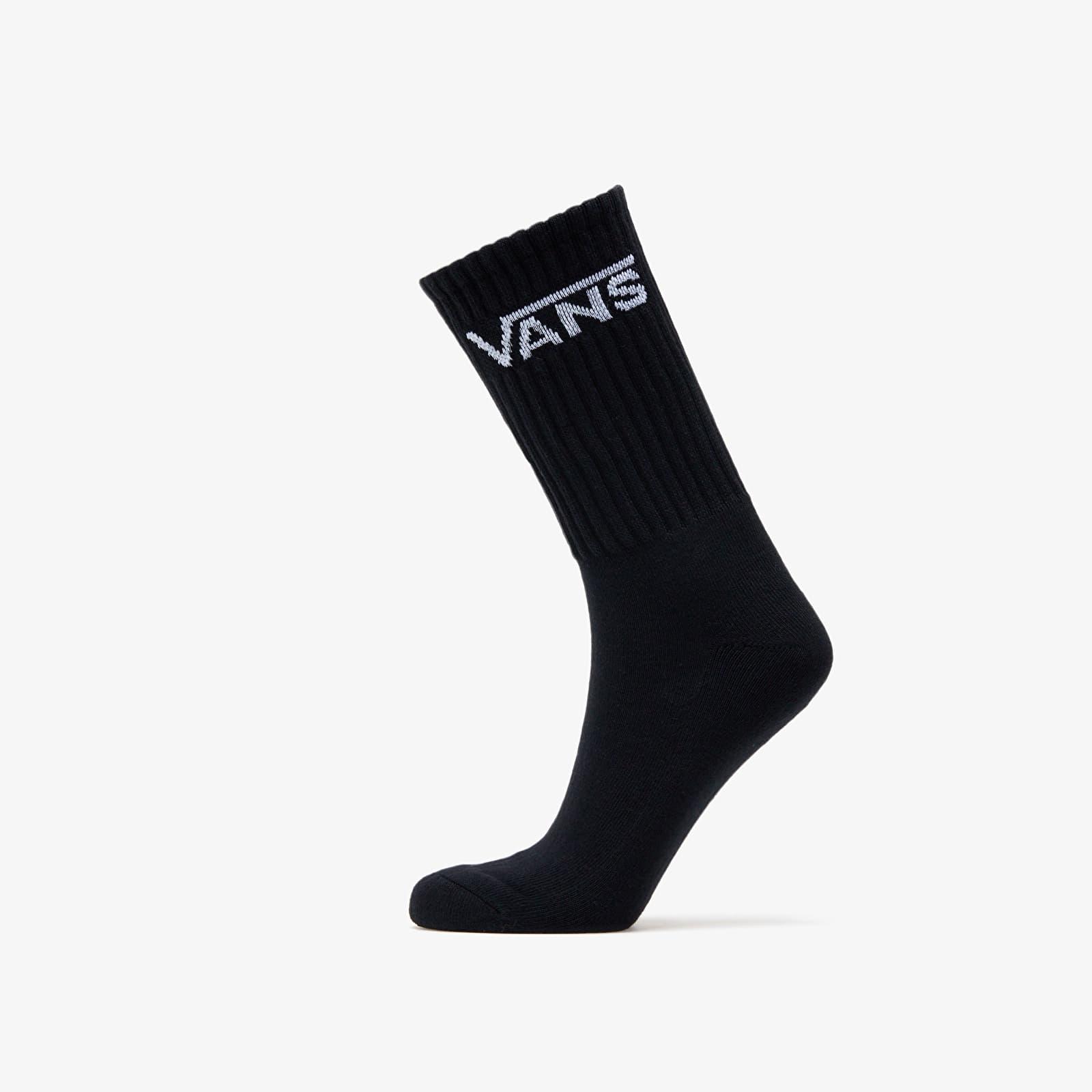 Ponožky Vans Socks M Classic Crew 3 Pairs Black