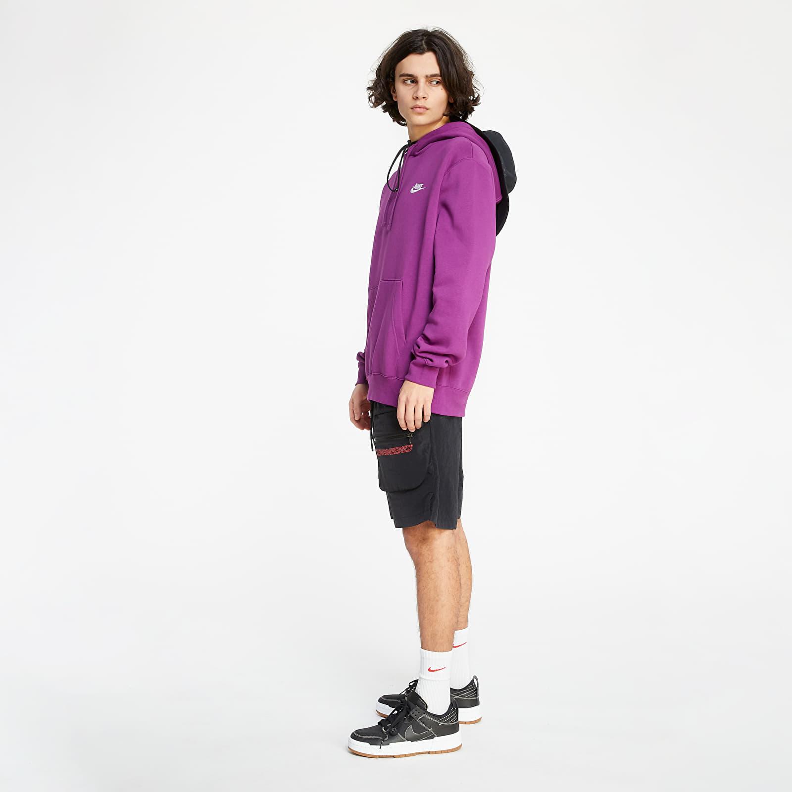 Nike Sportswear Club BB Hoodie Viotech/ Viotech/ White
