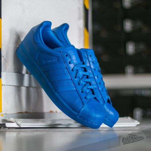 adidas Superstar Adicolor Blue Blue Blue
