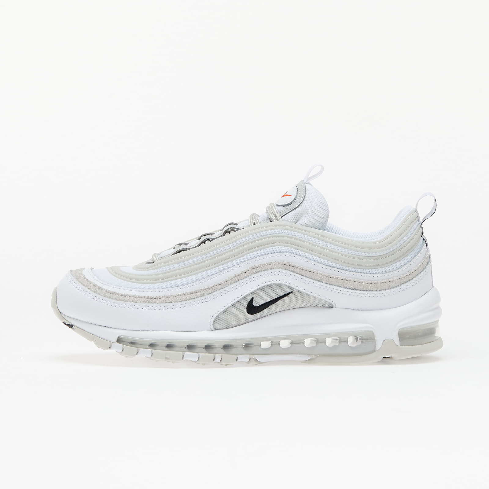 Nike Air Max 97 White/ Light Bone-Black-Team Orange EUR 41
