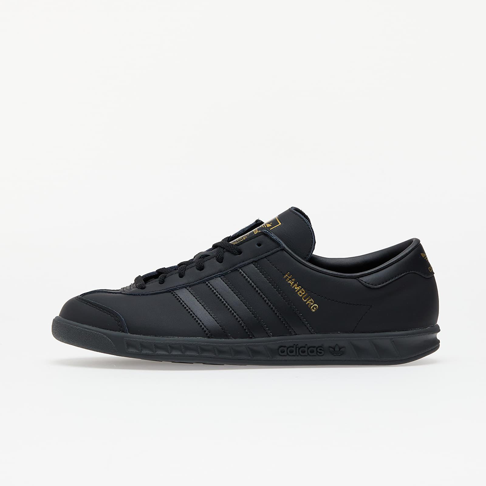 adidas Hamburg Core Black/ Core Black/ Gold Met. EUR 43 1/3