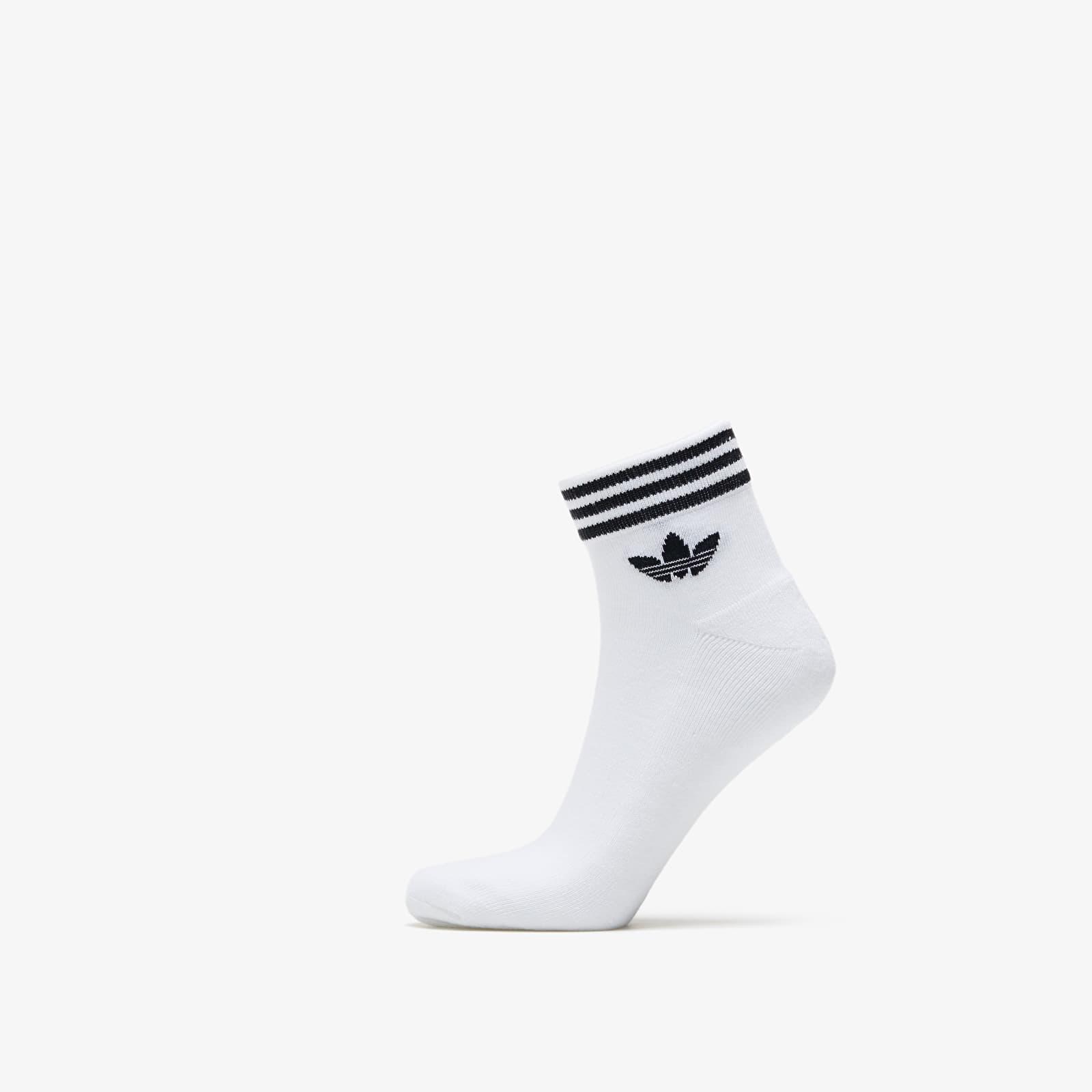 adidas Trefoil Ankle Socks HC White 43-46