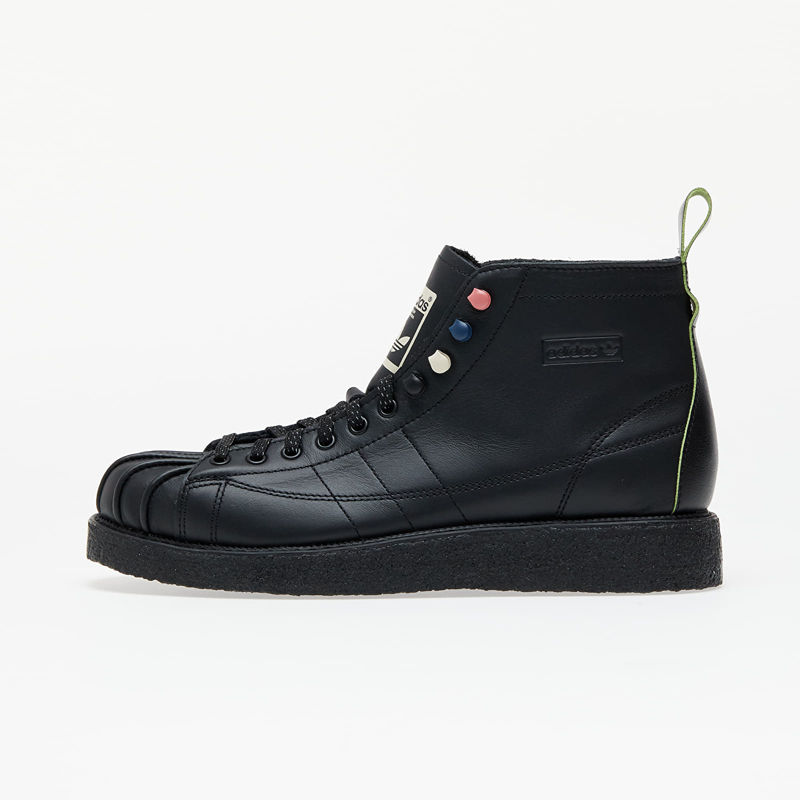 adidas Superstar Boot Luxe W Core Black/ Core Black/ Solar Green EUR 39 1/3