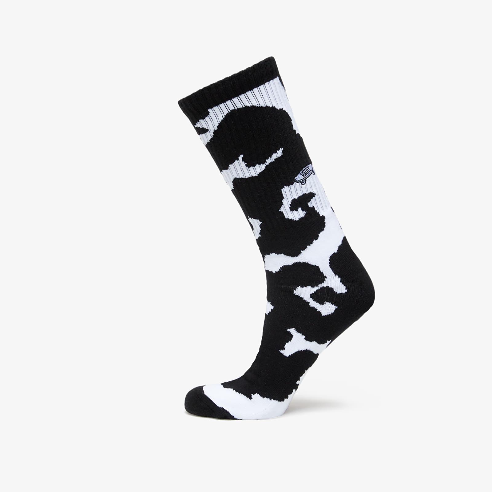 Vans Vault OG Cow Print Crew Socks 1Pack Black/ White 42,5-47