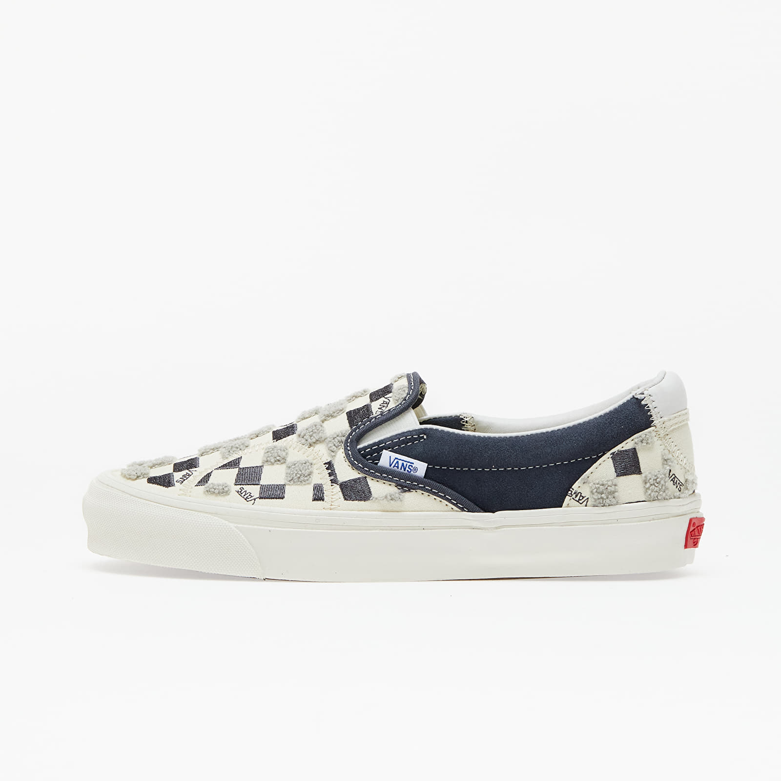 Мъжки кецове и обувки Vans Classicssic Slip-On Bricolage LX (Embroidered Checker) Classic