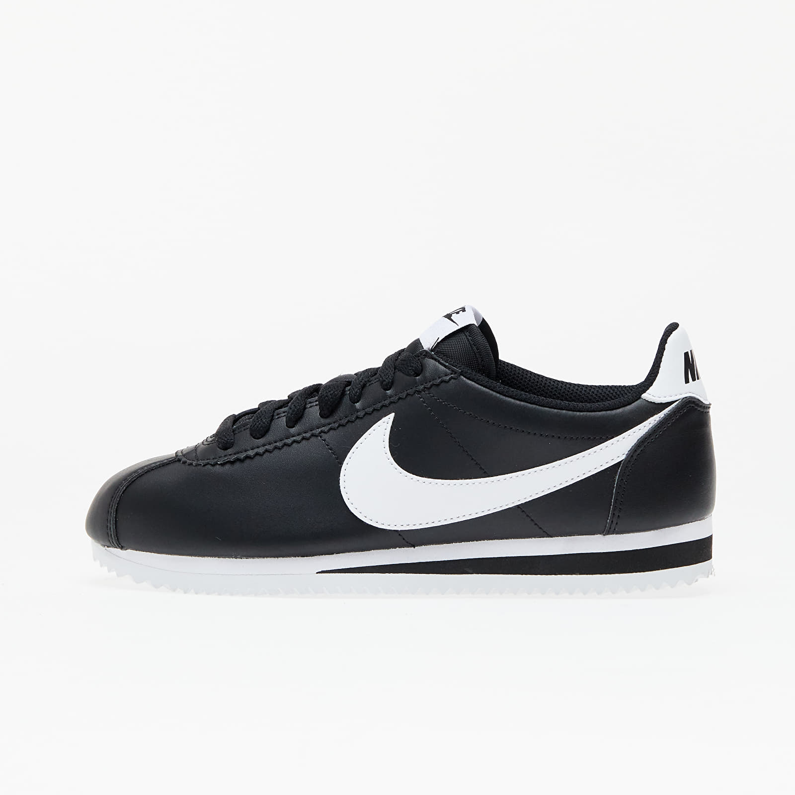 Nike Wmns Classic Cortez Leather Black/ White-White EUR 38.5