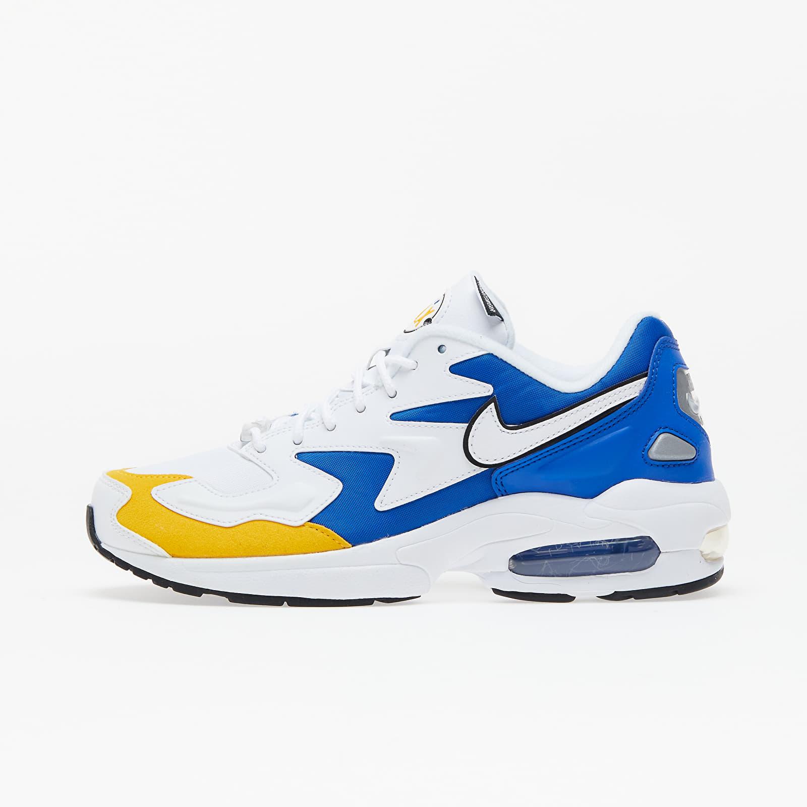 Ανδρικά παπούτσια Nike Air Max 2 Light Premium White/ White-University Gold-Game Royal