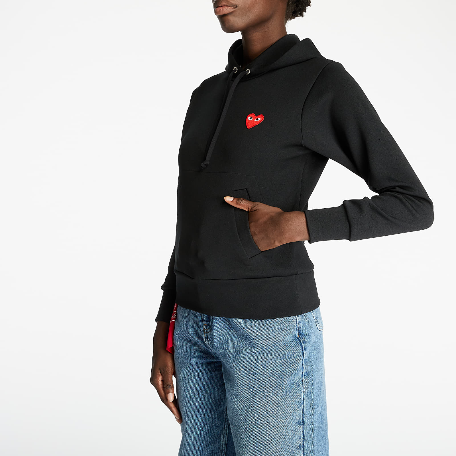 Sweatshirts Comme des Garçons PLAY Hoodie Black