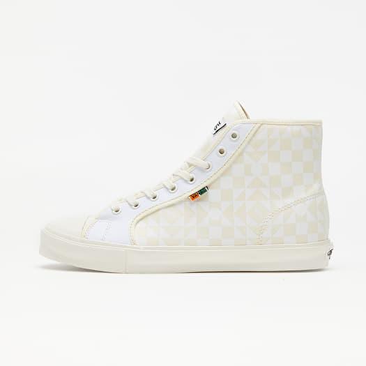 Vans Vault x Taka Hayashi OG Style 24 LX (Canvas) Checkerboard/ Classic White/ True White   Footshop