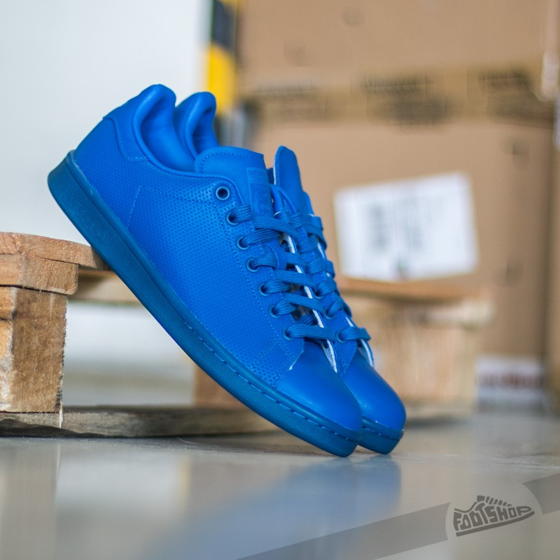 huge selection of 1ac2b bf29a adidas Stan Smith Adicolor Blue  Blue  Blue