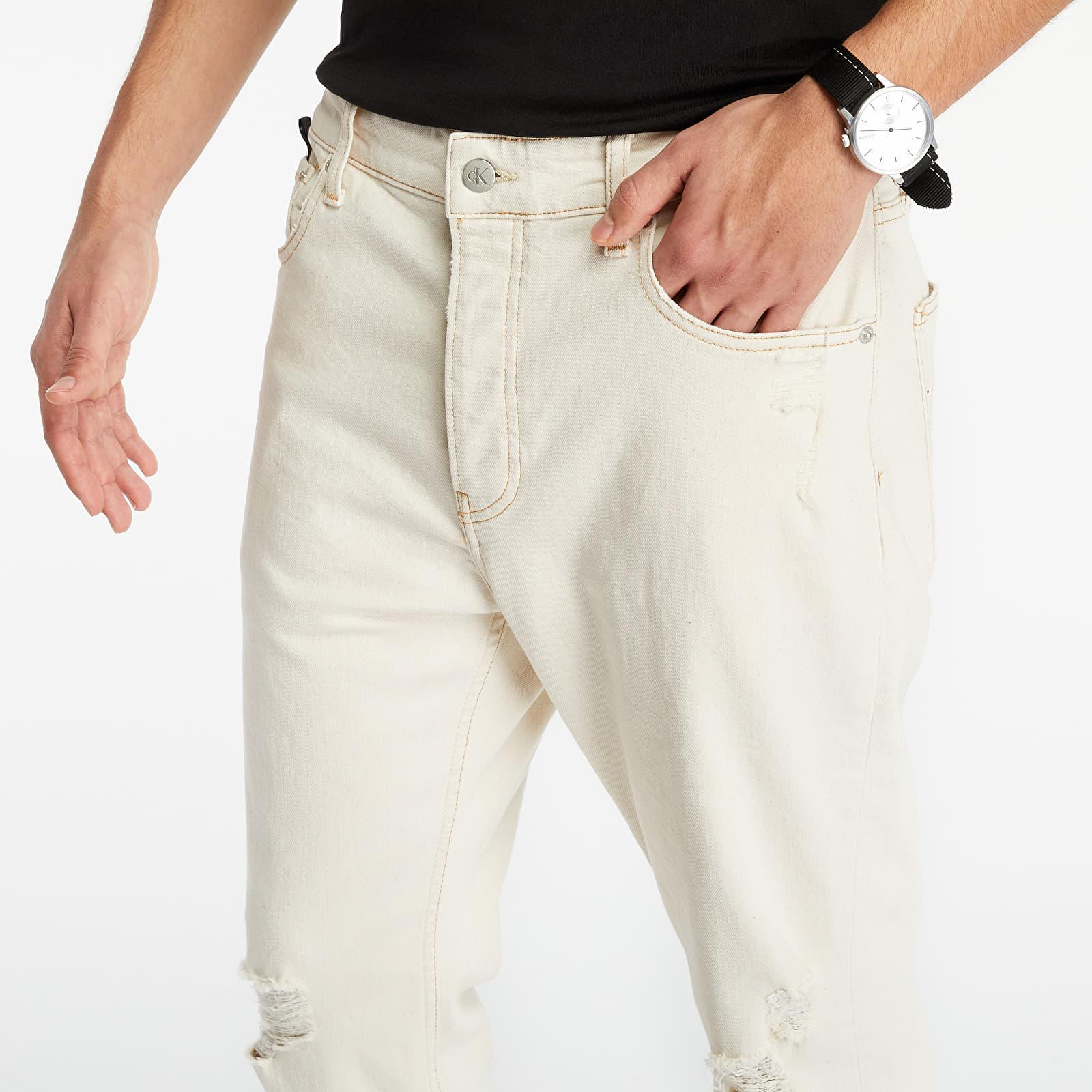 Džínsy a nohavice Calvin Klein Jeans Dad Jeans Denim Light