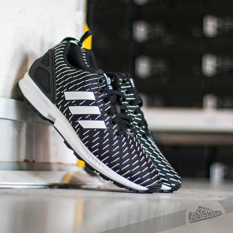 purchase cheap 0ae1a 3c3e8 adidas ZX Flux Core Black/ Core Black/ Ftw White | Footshop