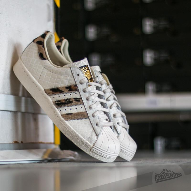 White Core Adidas Animal Gold 80s Metal Superstar wqPPBI8