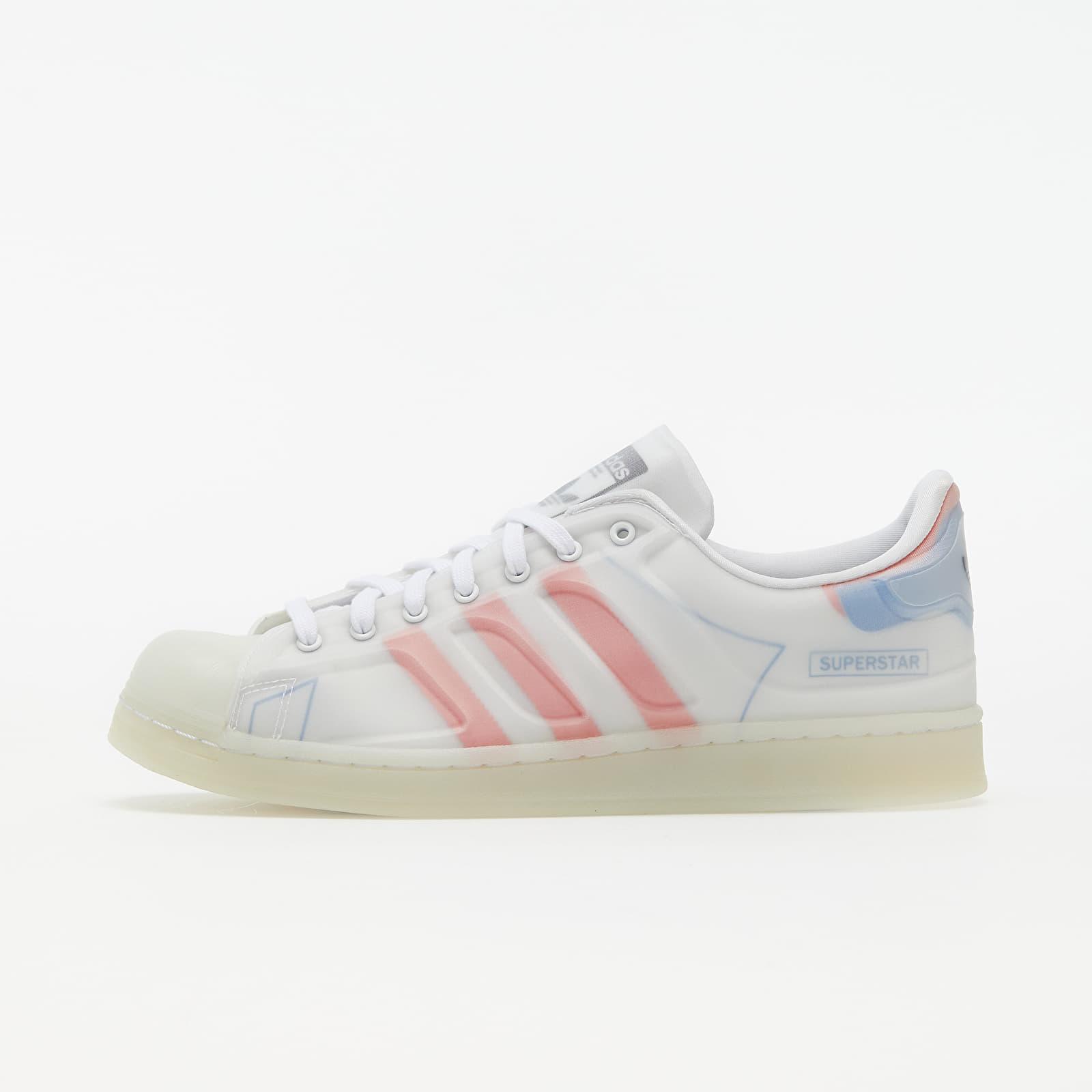 adidas Superstar Futureshell Ftwr White/ Semi Solar Red/ Bright Blue EUR 44
