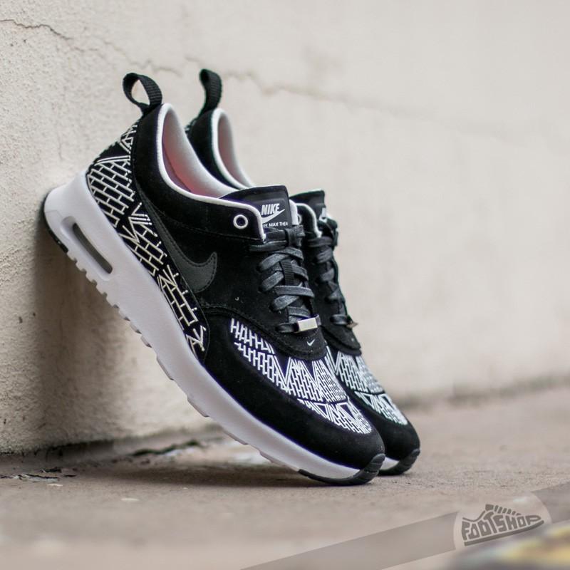 f44f4fd54209 Wmns Nike Air Max Thea LOTC QS Black  Black-Whtie