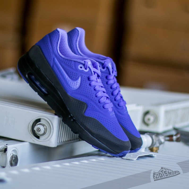 online store 197a2 18809 Nike Air Max 1 Ultra Moire Persian Violet  Persian Violet-Black