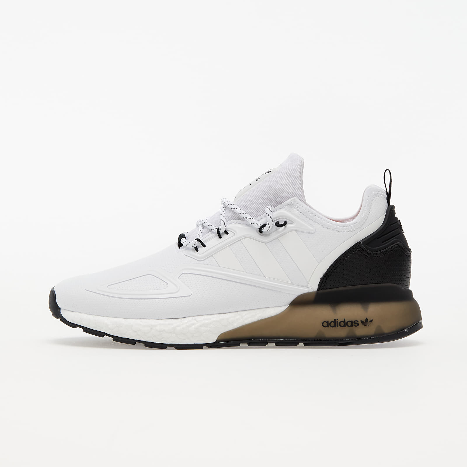 adidas ZX 2K BOOST Ftwr White/ Ftwr White/ Core Black   Footshop