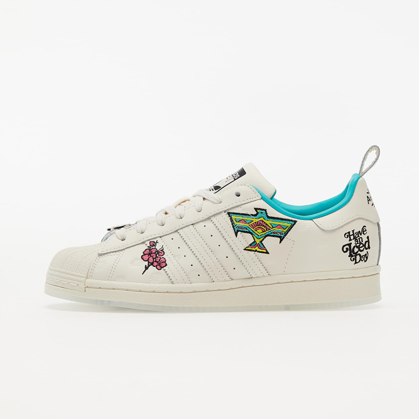 adidas x Arizona Tea Superstar Chalk White/ Chalk White/ Chalk White EUR 43 1/3