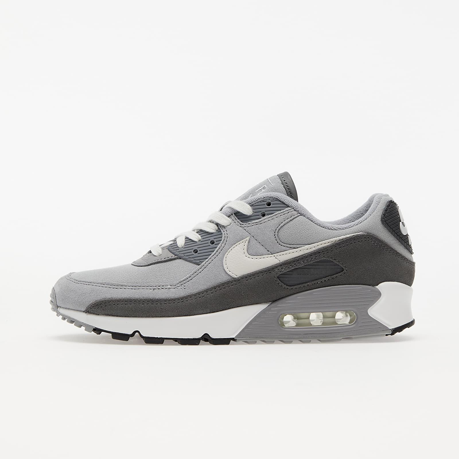 Nike Air Max 90 Premium Lt Smoke Grey/ White-Particle Grey EUR 42