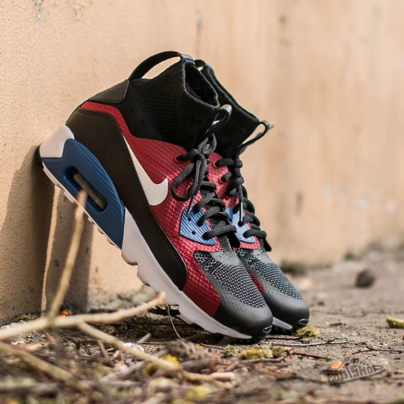 sports shoes 0c194 681f4 Nike Air Max 90 Ultra Superfly Black White- Dark Grey