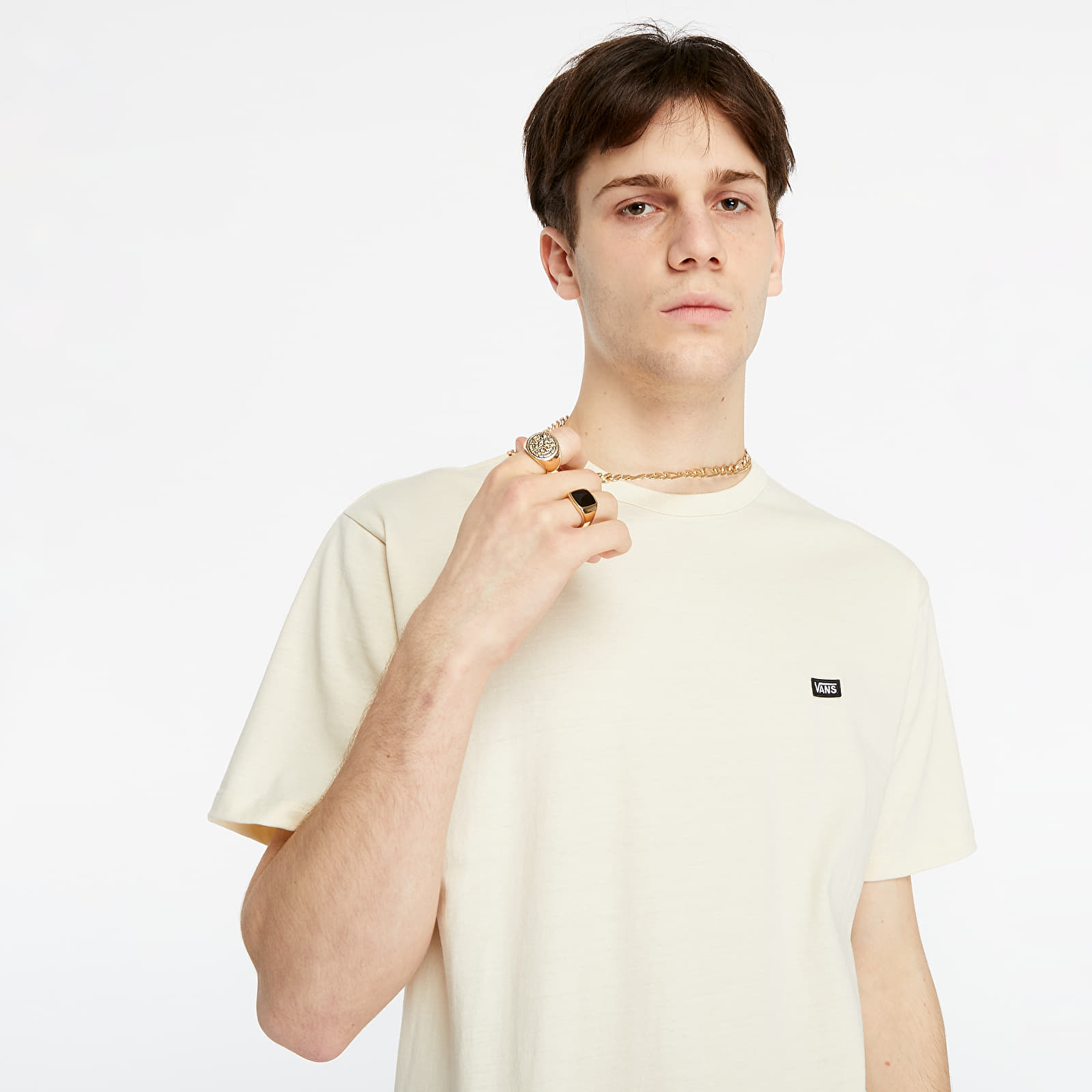 Vans Off The Wall Classic SS Tee Seedpearl EUR S