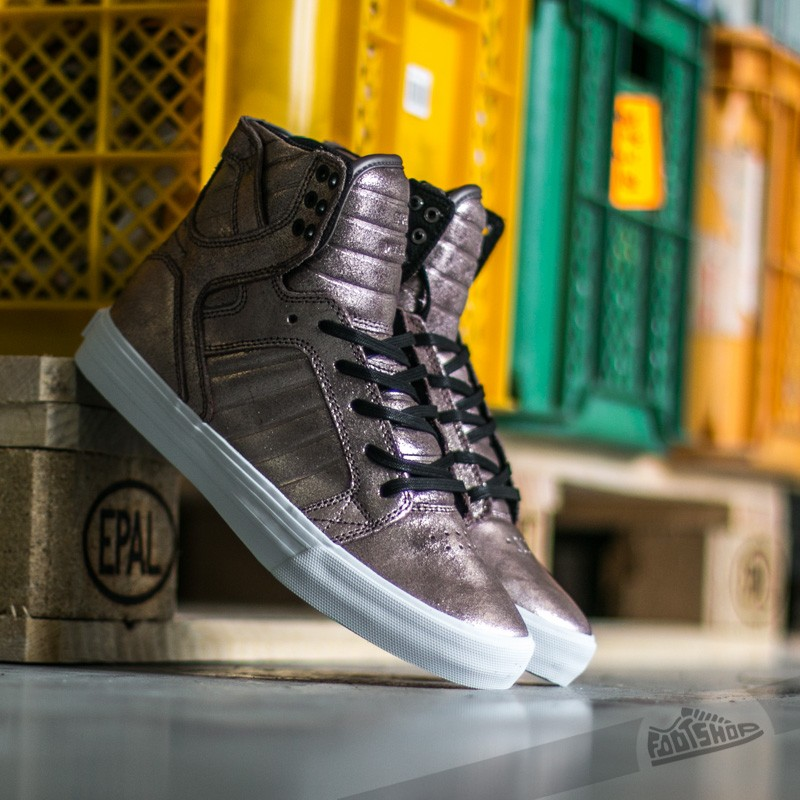 official photos 34aab ba301 Supra Skytop Rose Gold Metalic-White