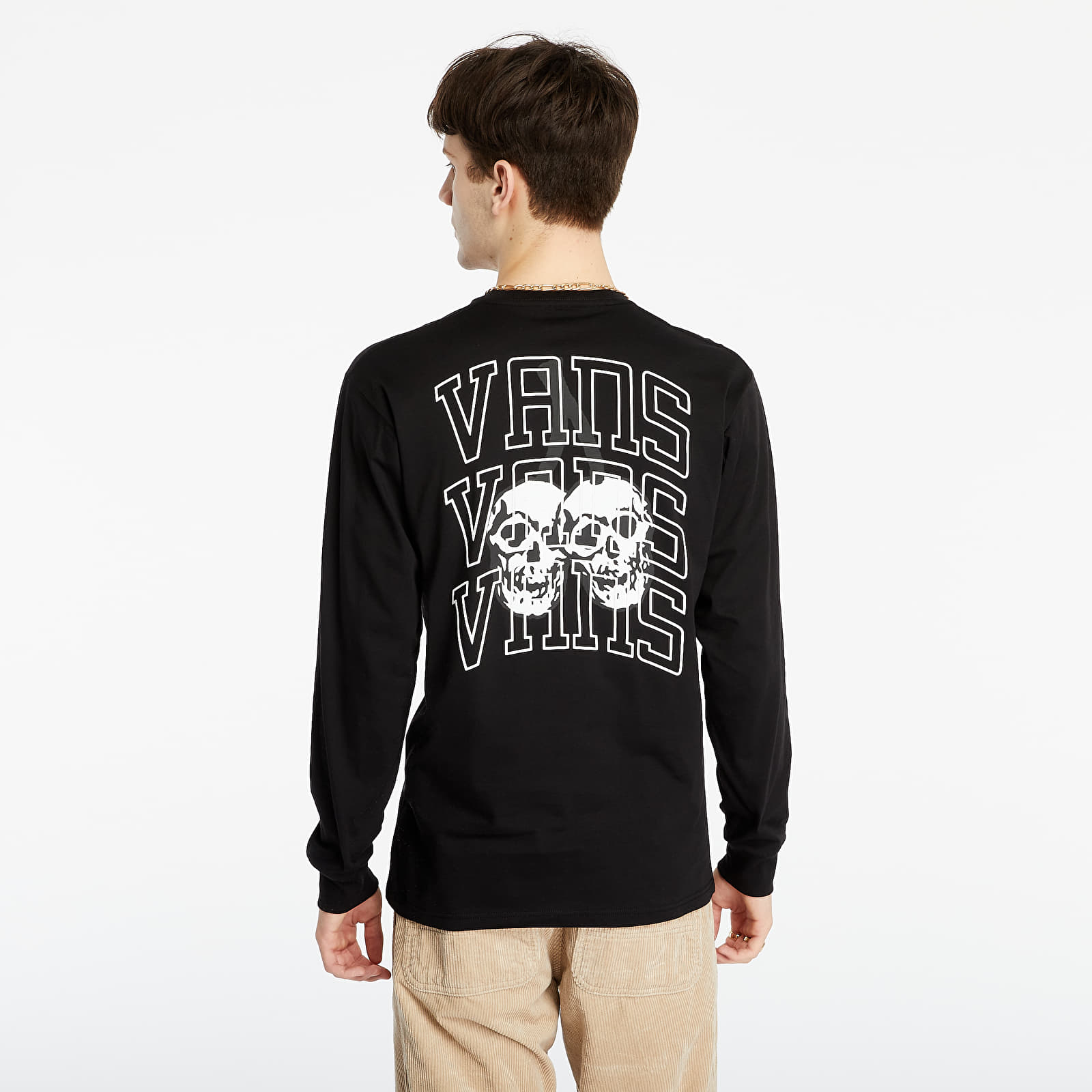 Vans New Varsity LS Tee Black EUR XL