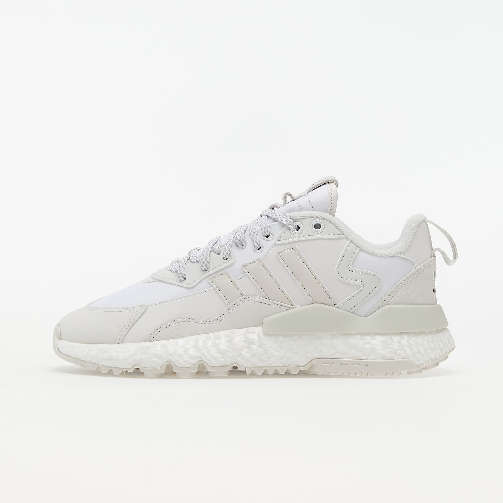 adidas Nite Jogger Winterized Crystal White/ Ftwr White/ Core Black | Footshop