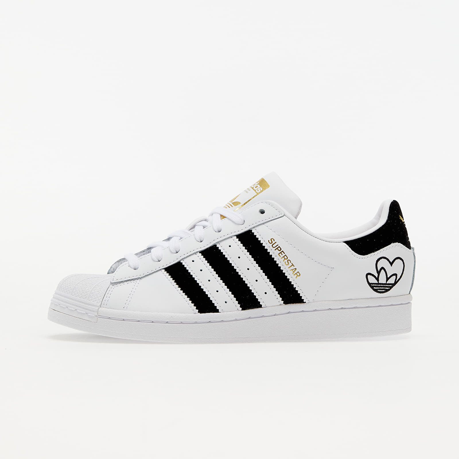 adidas Superstar W Ftwr White/ Core Black/ Gold Met. EUR 39 1/3