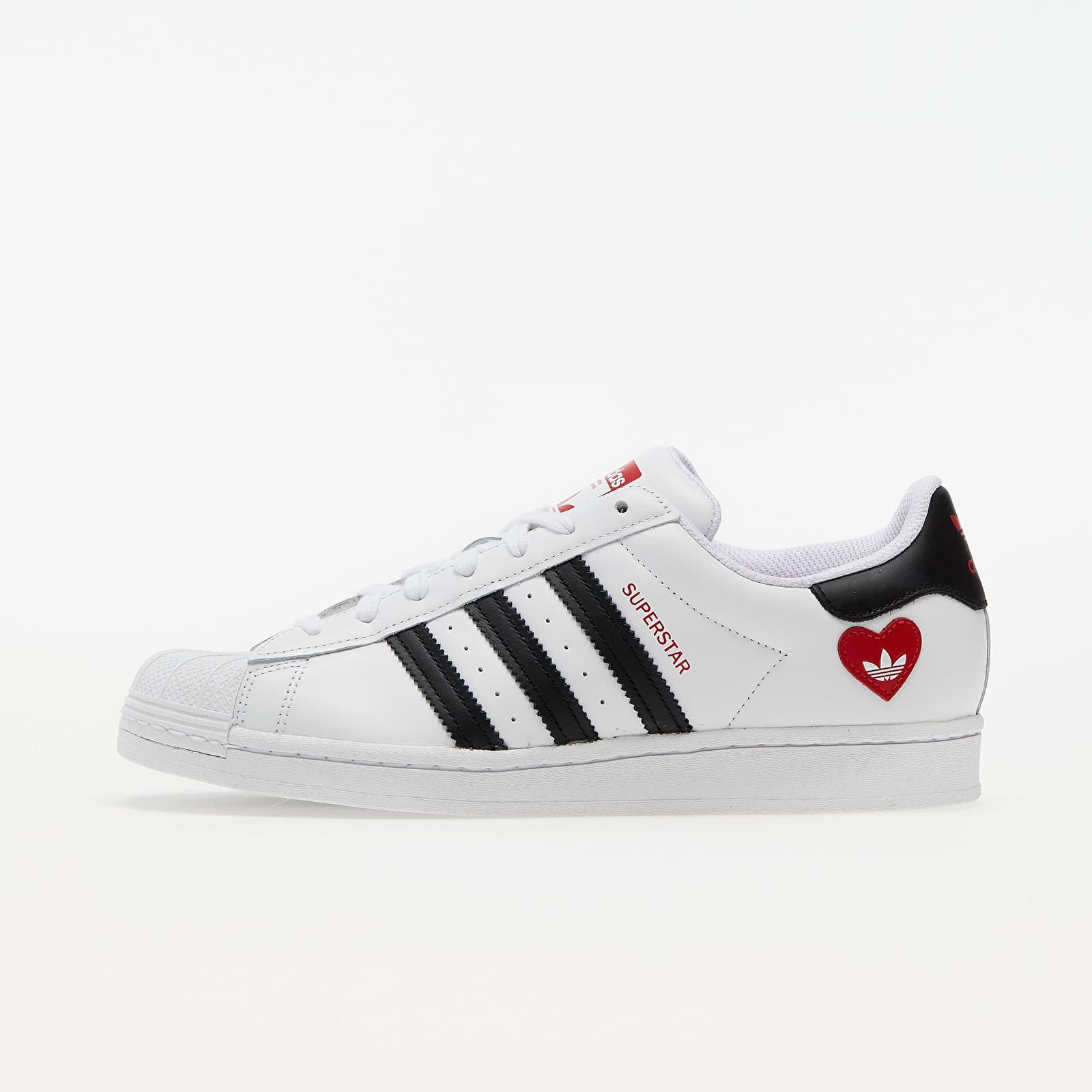 adidas Superstar Ftwr White/ Core Black/ Scarlet EUR 47 1/3