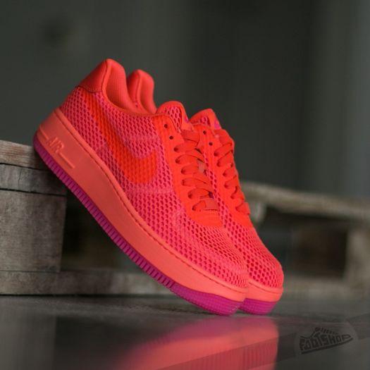 Nike W AF1 Low Upstep BR Total Crimson Total Crimson