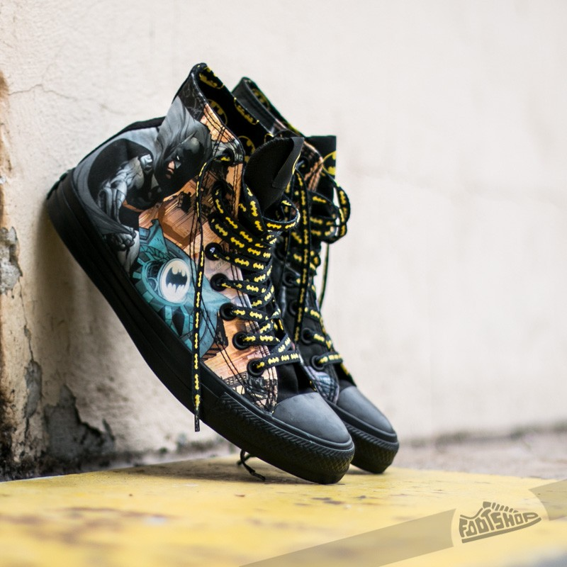 970bee7bbeb Converse Chuck Taylor All Star DC Comics Batman Hi Black  Dolphi ...