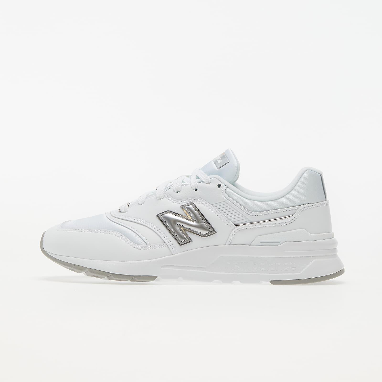 New Balance 997 White/ Silver EUR 36.5