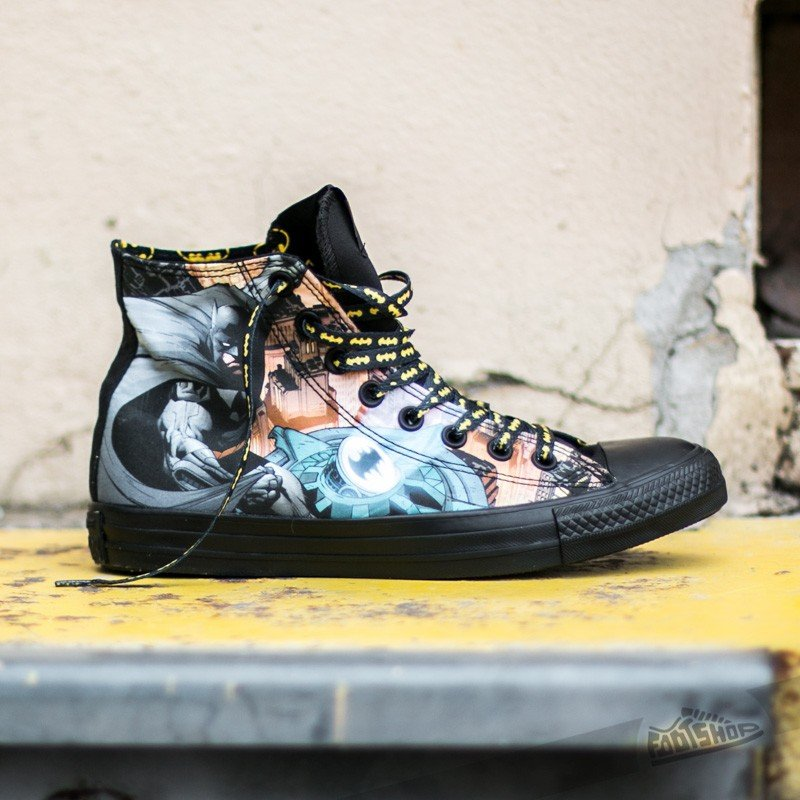 Szczegóły o Converse BATMAN & JOKER CARD Chuck Taylor All Star Shoes DC Comics BLACK