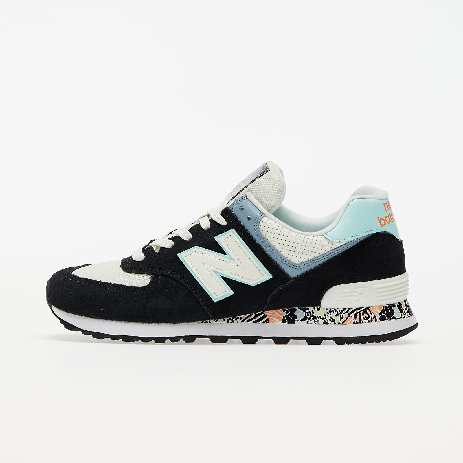 New Balance 574 Black/ Blue/ White EUR 36.5