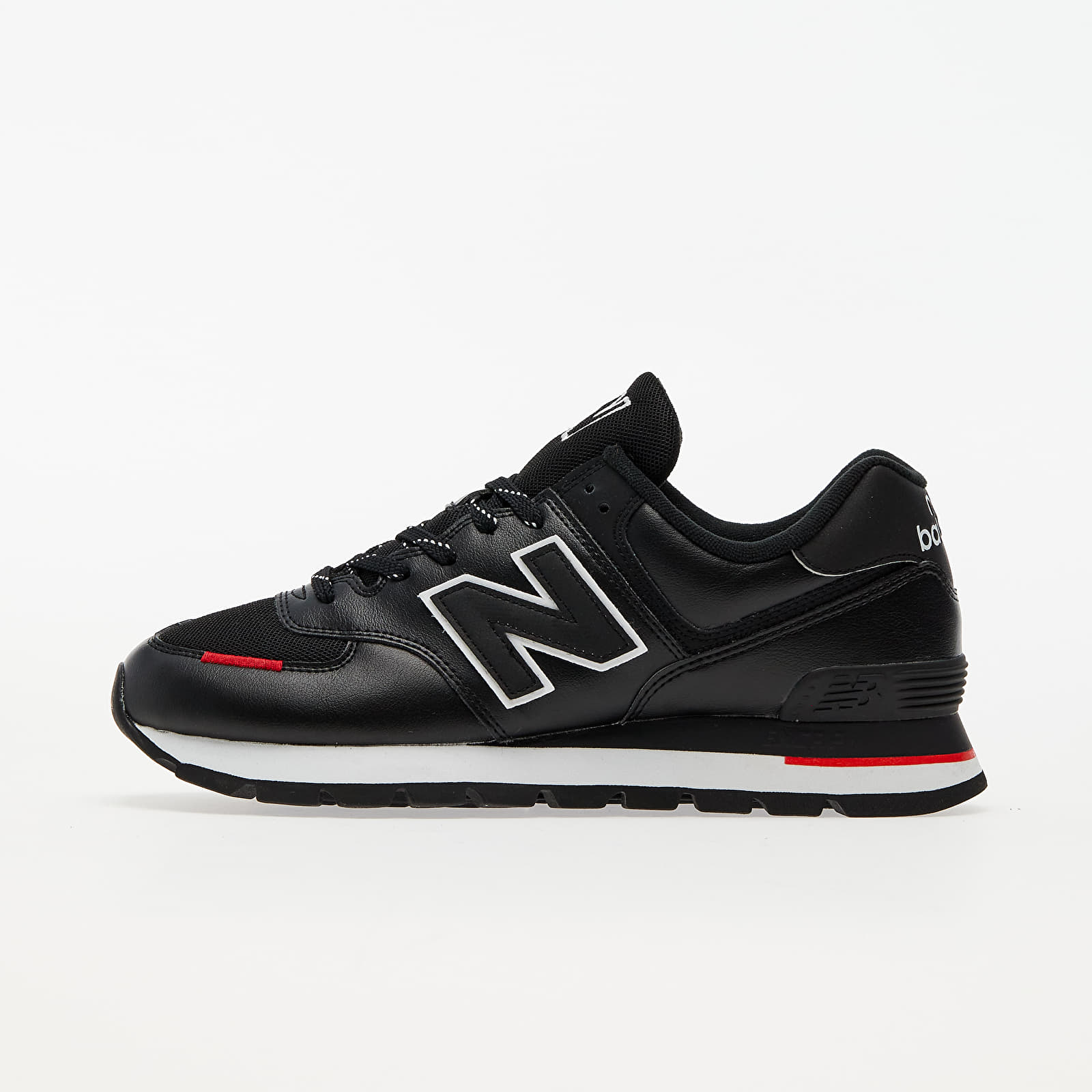 New Balance 574 Black/ Red EUR 43
