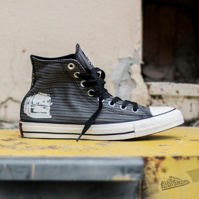 Converse Chuck Taylor All Star Hi Thunder Black   Footshop